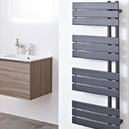 Designer Anthracite Towel Rails
