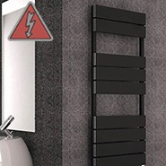 Designer Aluminium Electric Towel Rails