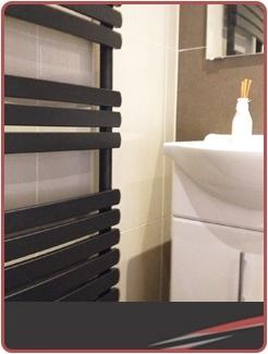 Designer Black Towel Rails