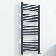 Anthracite Straight Ladder Rails
