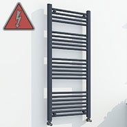 Anthracite Electric Ladder Rails