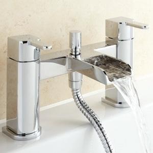 Deck Mounted Shower Bath Taps