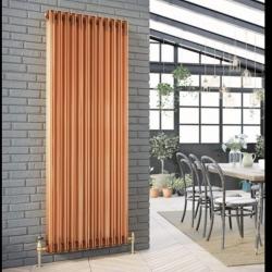 Beautiful copper column radiator 😍 #vintage #traditional #radiator #heat #design #designer #tradition