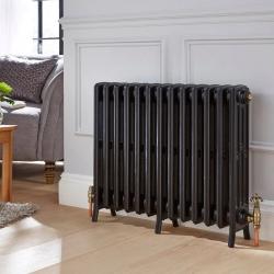 Traditional radiator with gold antique valves 😍🔥 #columnradiator #columnradiators #interior #interiordesign #newhome #decor #interiorinspo #decorinspo #plumbing #plumbinglife