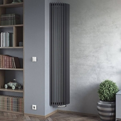 Corner designer radiator fitting into this room perfectly 👌😍 #columnradiator #columnradiators #interior #interiordesign #newhome #decor #interiorinspo #decorinspo #plumbing #plumbinglife