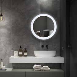 An LED Mirror adds a touch of class, and can light up even the darkest of bathrooms💡   Discover our selection here⬇: https://nwtdirect.co.uk/110-led-mirrors  #ledlights #ledmirror #ledmirrors #interiordesign #interiors #newhome #bathroominspo #bathroom #decorinspo #plumbing #plumbinglife #bathroomdesign #bathroomsofinsta #instabathroom #luxurybathroom #luxurysuite  #amazinghome #newbathroom #interior #decor #homeinspo  #todaysphoto