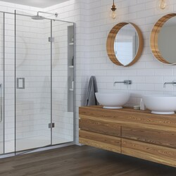 Wooden framing on these twin mirrors and a wall hung drawer unit to match😍  #Twinbasins #twinmirrors #mirrors #interior #interiordesign #newhome #decor #interiorinspo #decorinspo #plumbing #plumbinglife #houserenevation #renevation #traditional #interiordesign #interiorstyling #interiordecor #bathroomsofinsta #luxurybathroom #luxurysuite #bathtub #amazinghome #newbathroom #interior #decor #homeinspo #towel #todayspic #twinsinks #sink